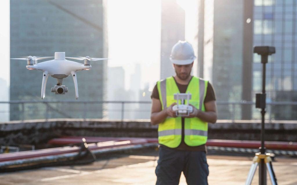 Wykorzystanie drona Phantom 4RTK w przemyśle