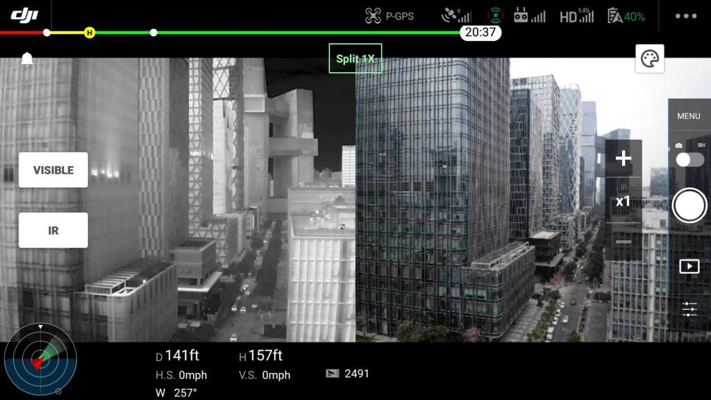 DJI Mavic 2 Enterprise Advanced system podwójnego obrazowania