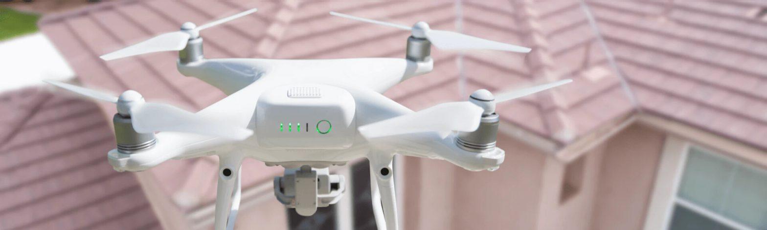 Inspekcje dachów dronem dji phantom 4 rtk