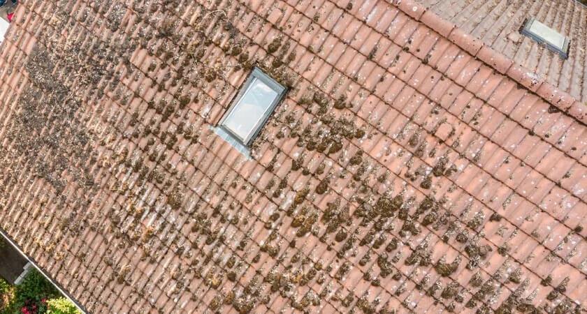 Inspekcja dachu z wykorzystaniem drona dji phantom 4 rtk
