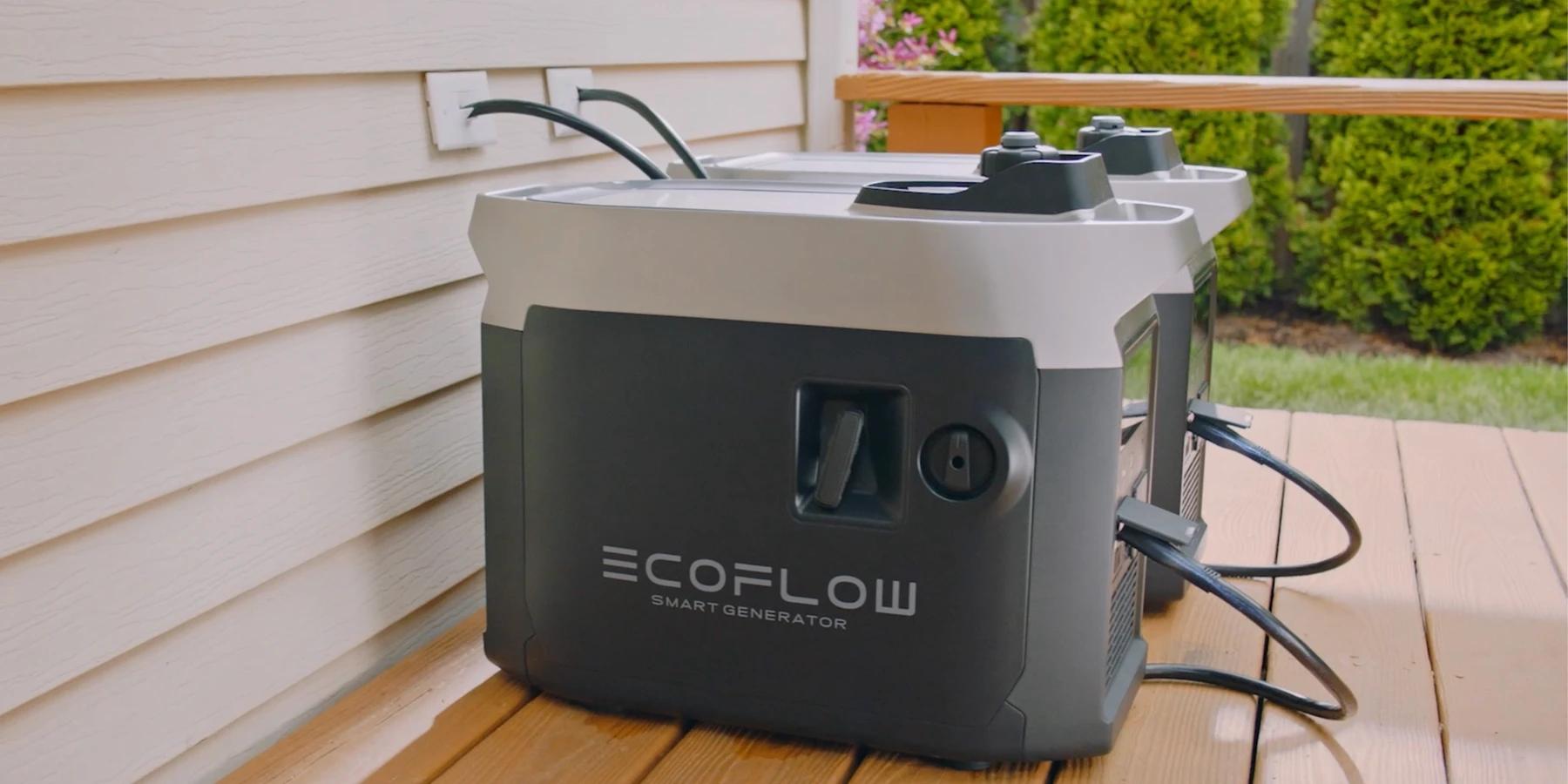 agregat prądotwórczy ecoflow