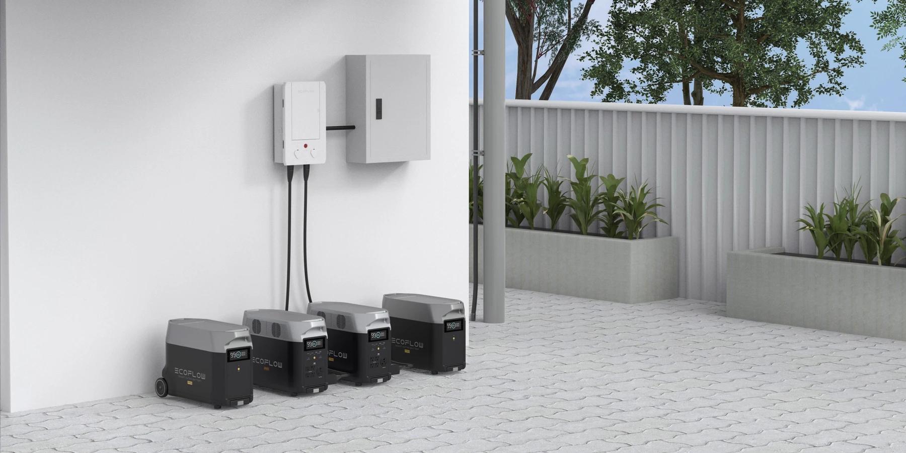 Centrala Smart Home Panel zapewnia nieprzerwane zasilanie awaryjne
