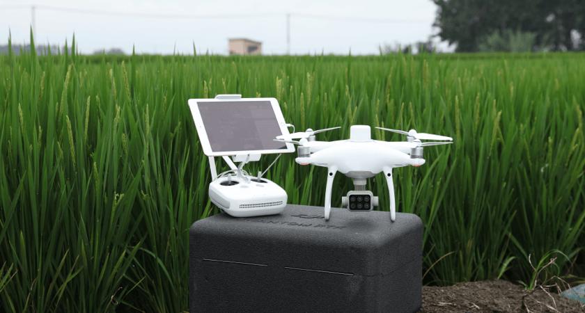 dron pantom 4 multispectral do tworzenia map rgb i ndvi