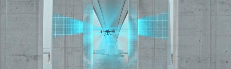 automatyczna inspekcja mostów za pomocą drona dji matrice 300 rtk